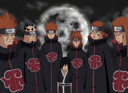 How many corpses did Nagato consumed in all for the Six Paths of Pain?