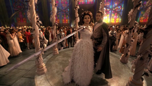 What did snow white call the evil queen at snow white39s for Snow white wedding ring once upon a time