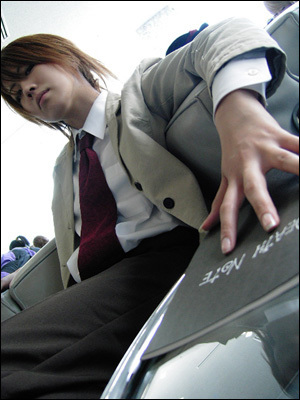 Who's this cosplayer cosplaying as?