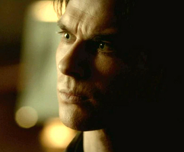 """Whenever Ты go too far, I'll be there to pull Ты back. Every second, every day. Till Ты don't need me."" To whom does Damon say this?"