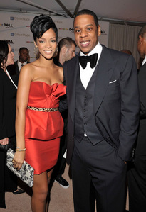 Which song was rumored that it was actually meant to talk about Jay Z's relationship with Rihanna?