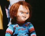 After being shot in the shoulder by Mike Norris, as a doll why did Chucky's gunshot wound bleed? When he asked his voodoo instructor.