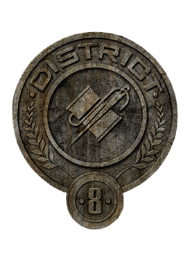 What is symbol of District 8 ?