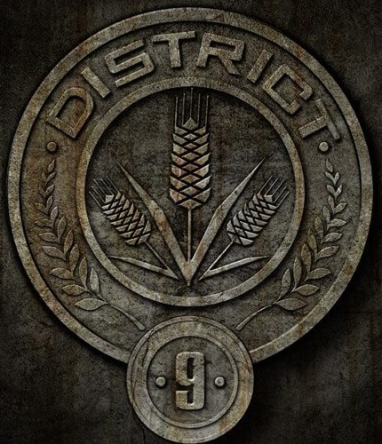 What is symbol of District 9 ?