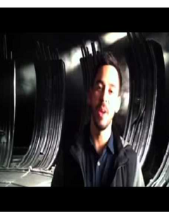 What is Mike Shinoda doing in this picture?