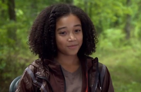 How many tributes are left when Katniss teams up with Rue?