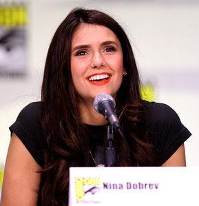 What is Nina Dobrev's real name?