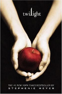 Who is the hand model featured on the cover of the Twilight book?