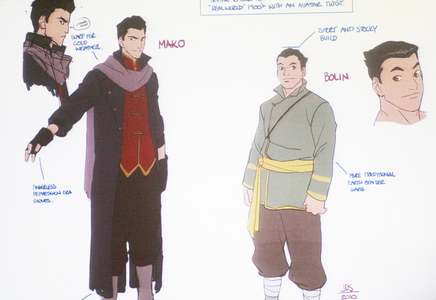 Which one of the boys does Korra meet first?