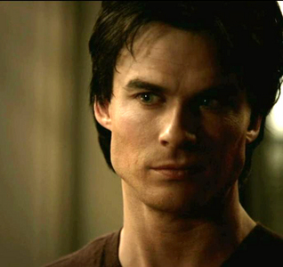 """When people see good, they expect good. And I don't want to have to live up to anyone's expectations."" Damon is speaking to?"