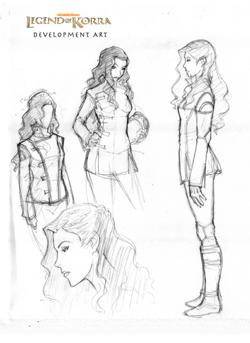 Who is Asami's appearance based on?