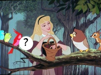 What color is the hidden bird ?