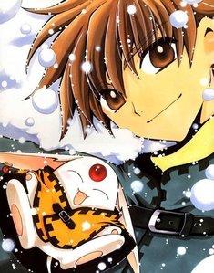 Keroberos from Card Captor Sakura appear in Tsubasa Chronicles.