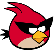 What is the Red Bird also known as in Angry Birds Space?