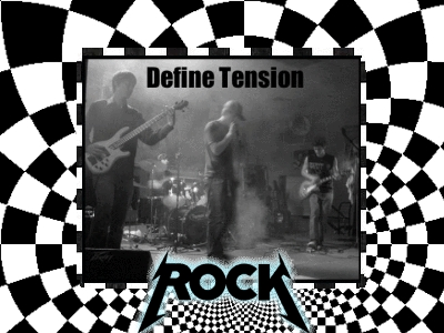 Who is the Lead Singer of Define Tension?