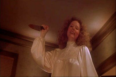 "In the movie, ""Carrie"", what would Margaret White consistently do to punish her daughter for 'sinning'?"
