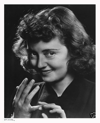 When Elisabeth Ruth Davis arrived in Hollywood, her first studio was not too pleased with her name. The heads wanted to change her name to: