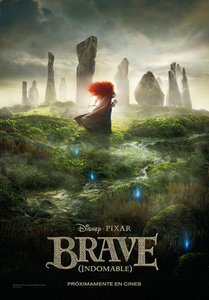 When does the movie Brave comes to the Spanish theatres, (at the moment)?
