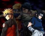 How did Naruto discribe Sasuke to him during there fight at Final Valley?