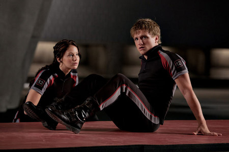 Katniss & Peeta are the first in Hunger Games history to ever get a 12 in trainig. True o False?