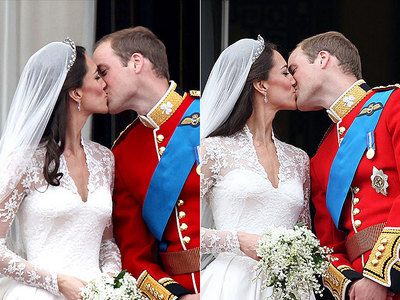 How many countries worldwide aired the royal wedding of William and Kate?