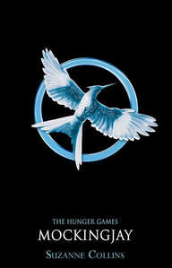 In Mockingjay what colour is the schedule tattooed on your arm?