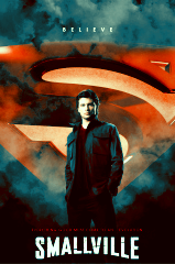 "True/False: I was never really into Superman until I started watching ""Smallville"""