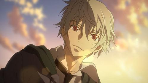Akise (from Mirai nikki) has feelings beyond friendship for...