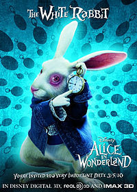 "In Ciel in Wonderland, who plays the role of the "" White Rabbit ""?"