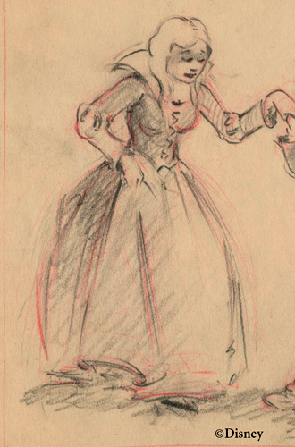 This is concept art of which Disney Princess?