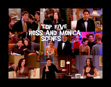 Did Monica eat macaroni off of a jewelry box she made when she was sent to her room w/o dinner?