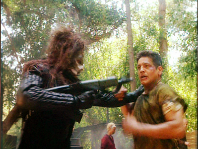 NAME THE EPISODE: Chakotay is shot down on a planet in the midst of a bloody civil war