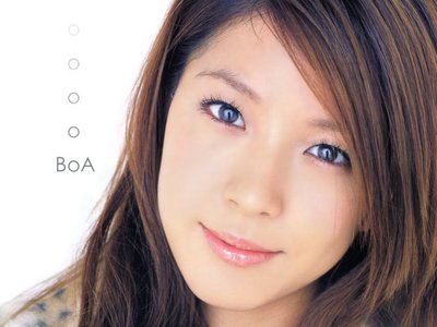 Which of the following songs is sung por BoA?
