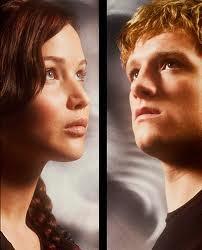 Katniss loves Peeta for real or not real?
