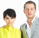For what magazine did Josh & Ginnifer pose for?
