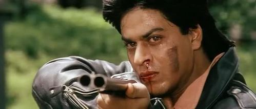 who is Raj Pointing this gun at?