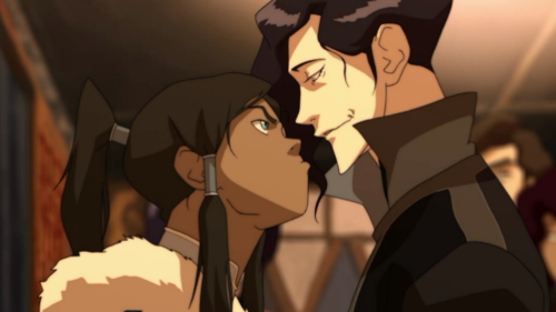 What is Korra saying in this picture?
