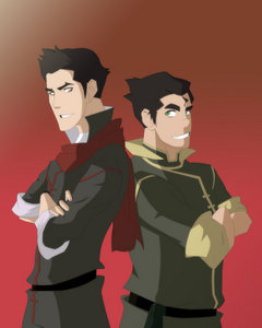 What happened to Mako and Bolin's parents?