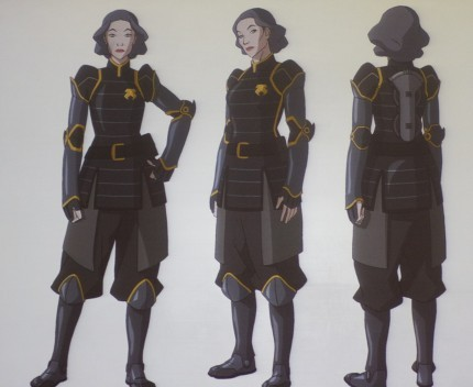 Which side of her face,is Lin Beifong's scar on?