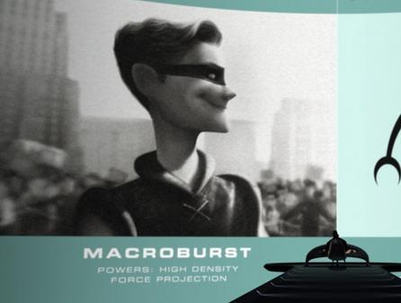 "THE INCREDIBLES: Macroburst's ""threat rating"" is ____."
