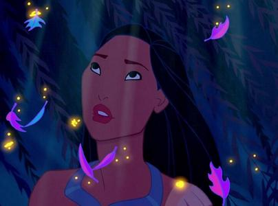 Which question did Pocahontas' mother ask Grandmother Willow?