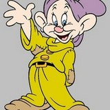 In Snow White and the Seven Dwarfs, why is it that Dopey ...
