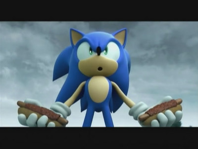 Does Sonic eat something that real hedgehogs suppose to eat?