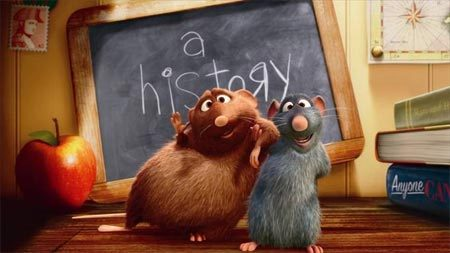 "T/F: Brad Bird, who directed Ratatouille, also directed Pixar's short film ""Your Friend the Rat""."