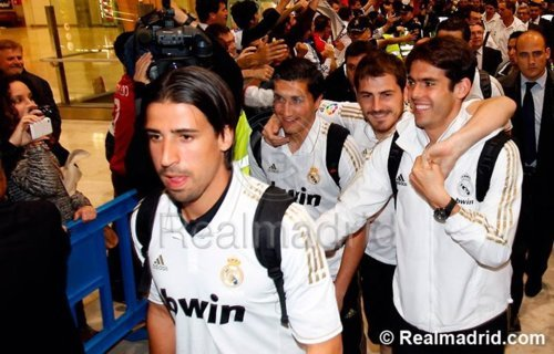 Who did Kaka' consider as his best friend in Real Madrid to the press recently?