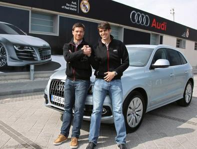 On 2nd April 2012, Kaka & Xabi Alonso participated in the Audi Q5 Challenge (hybrid car) which was an efficient driving test. Who was the winner?