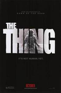 In the 2011 version of THE THING, Kate noticed something different about Carter, what was it?