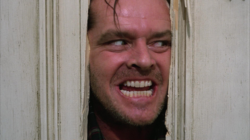 In the movie THE SHINING, Jack types a saying over & over again, what is it?