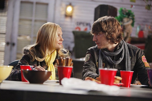"Cappie: ""You're so nice, and carefree, and beach babe beautiful. I feel like I'm in a ________ commercial""."