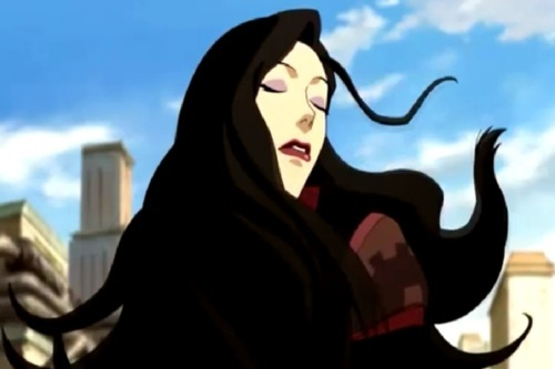 The actress who voices Asami also appeared in The Last Airbender in which role?